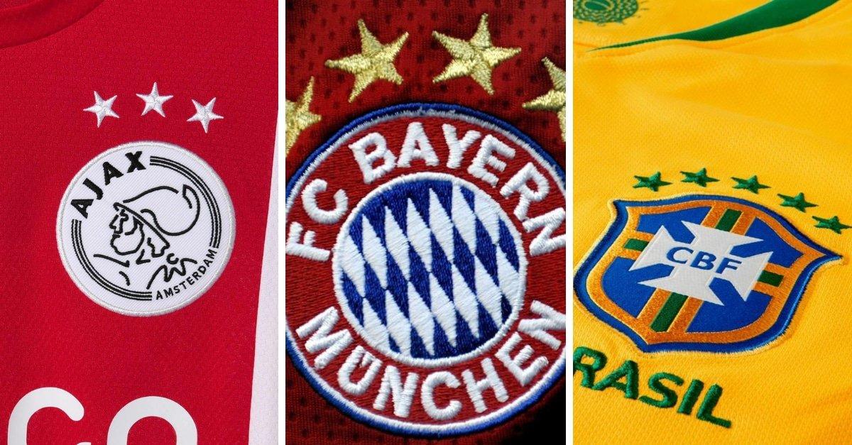 Wat betekenen sterren op voetbalshirts?
