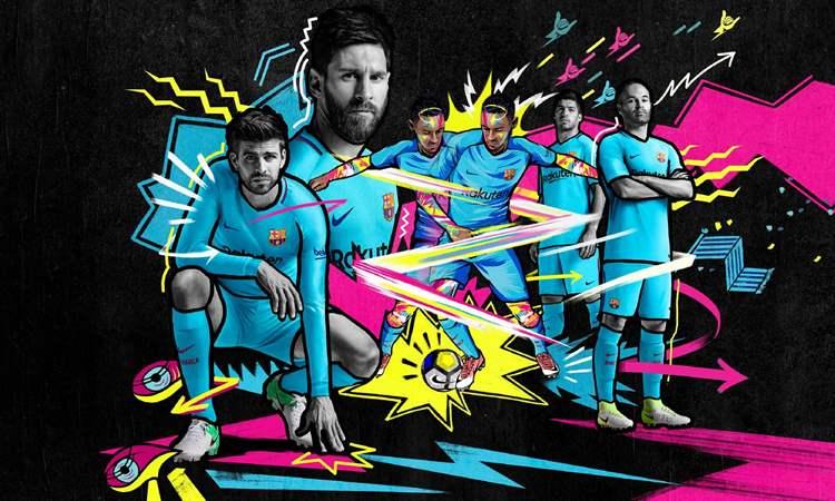 Barcelona Uitshirt 2017-2018
