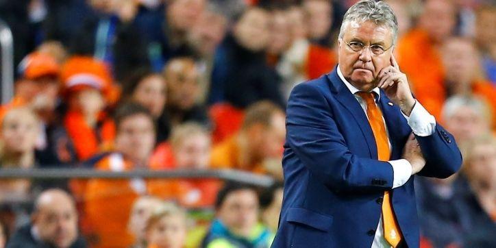 Het dramatische bondscoachschap van Guus Hiddink