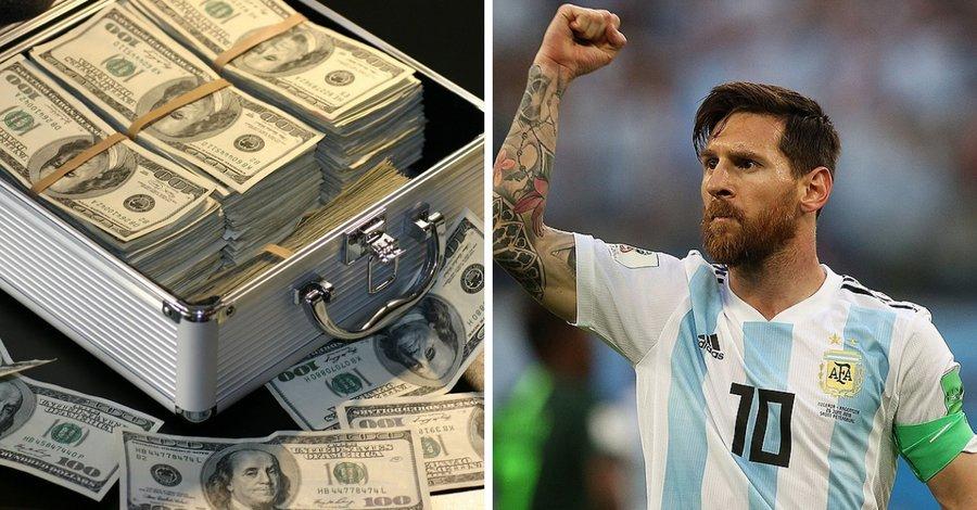 Hoeveel verdient Messi? Duizelingwekkend veel!