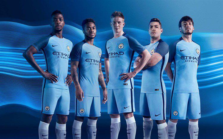 Manchester City Thuisshirt 2016-2017