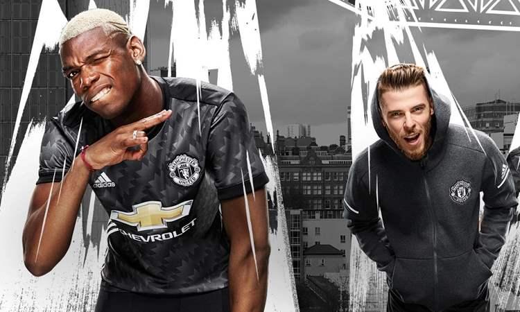 Manchester United Uitshirt 2017-2018