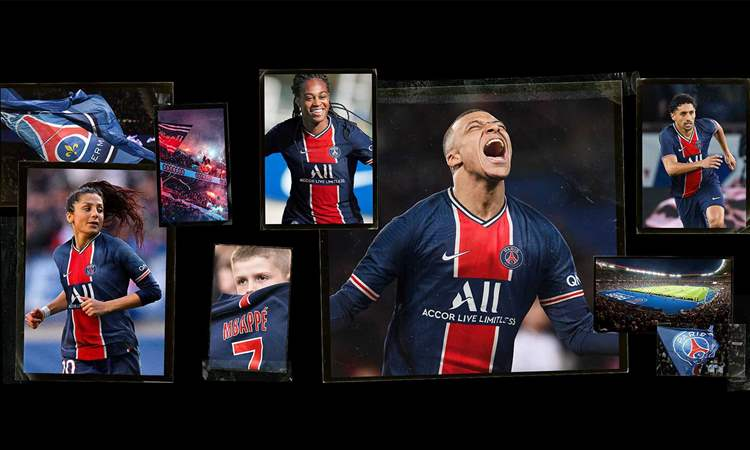 Paris Saint-Germain Thuisshirt 2020-2021