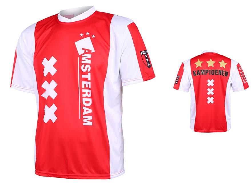 Amsterdam Voetbalshirt Kampioenen Thuis