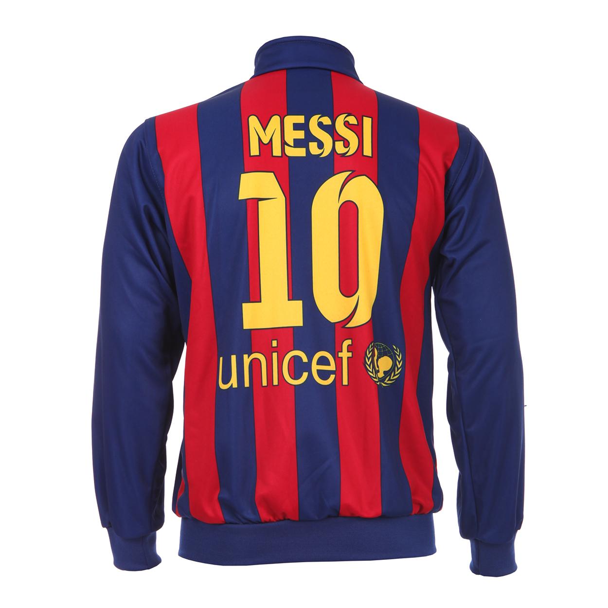 Barcelona Trainingsjack Messi Thuis