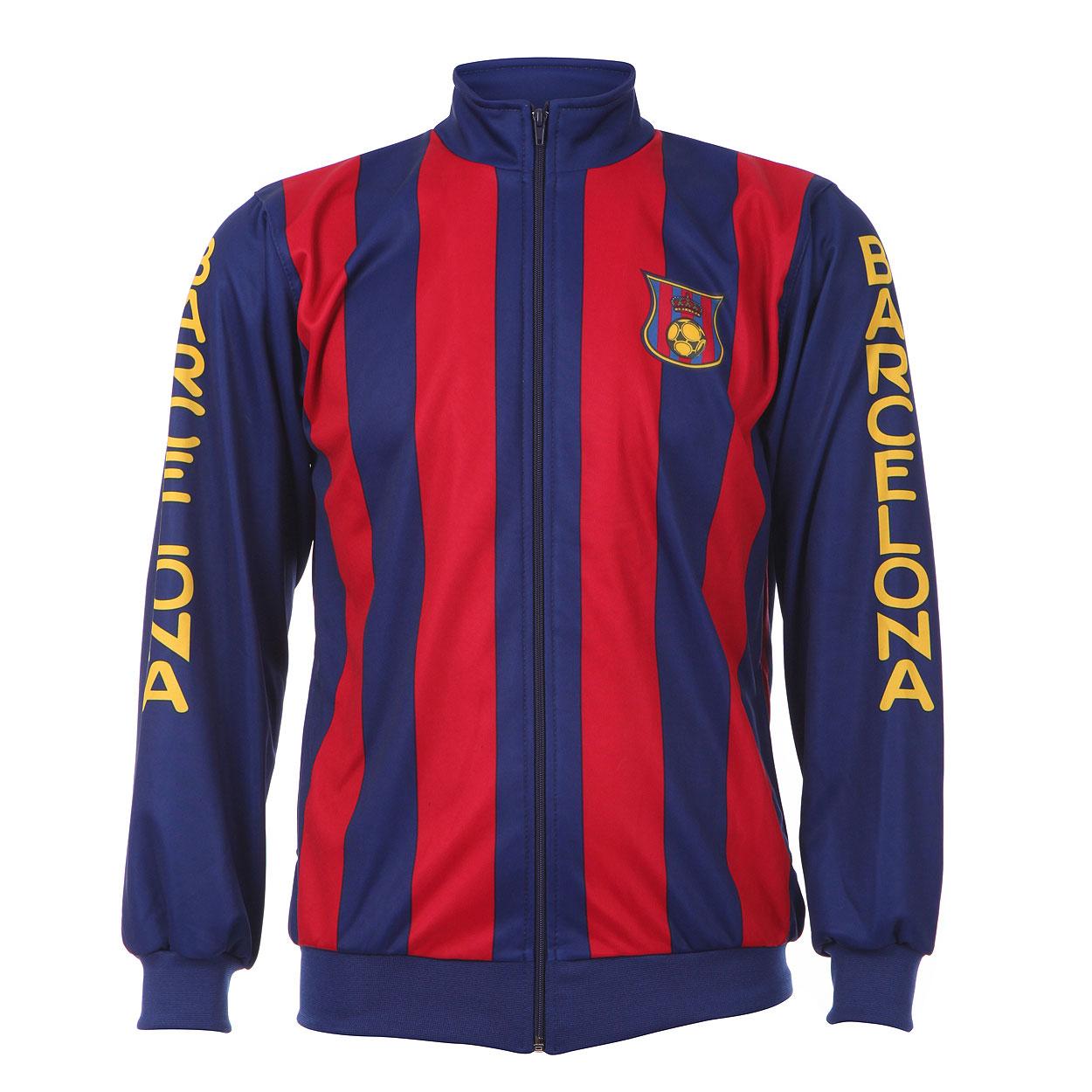 Barcelona Trainingsjack Thuis Eigen Naam