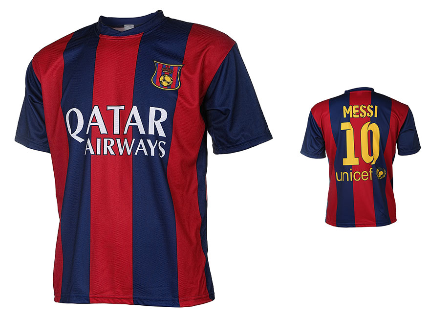 Barcelona Voetbalshirt Messi Thuis 2014-2015