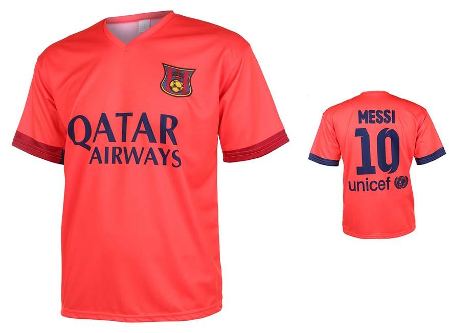 Barcelona Voetbalshirt Messi Uit 2014-2015