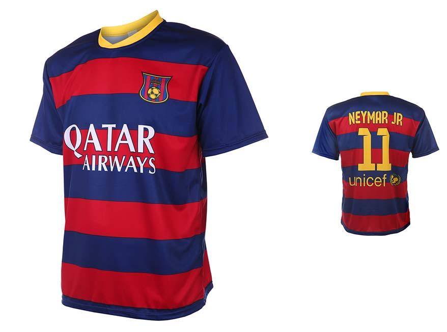 Barcelona Voetbalshirt Neymar Thuis 2015-2016
