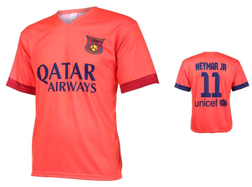 Barcelona Voetbalshirt Neymar Uit 2014-2015
