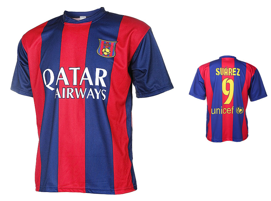 Barcelona Voetbalshirt Suarez Thuis 2014-2015
