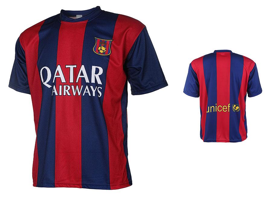 Barcelona Voetbalshirt Thuis Eigen Naam 2014-2015