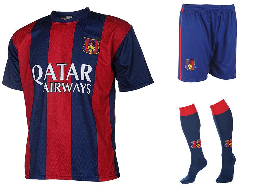 Barcelona Voetbaltenue Neymar Thuis 2014-2015