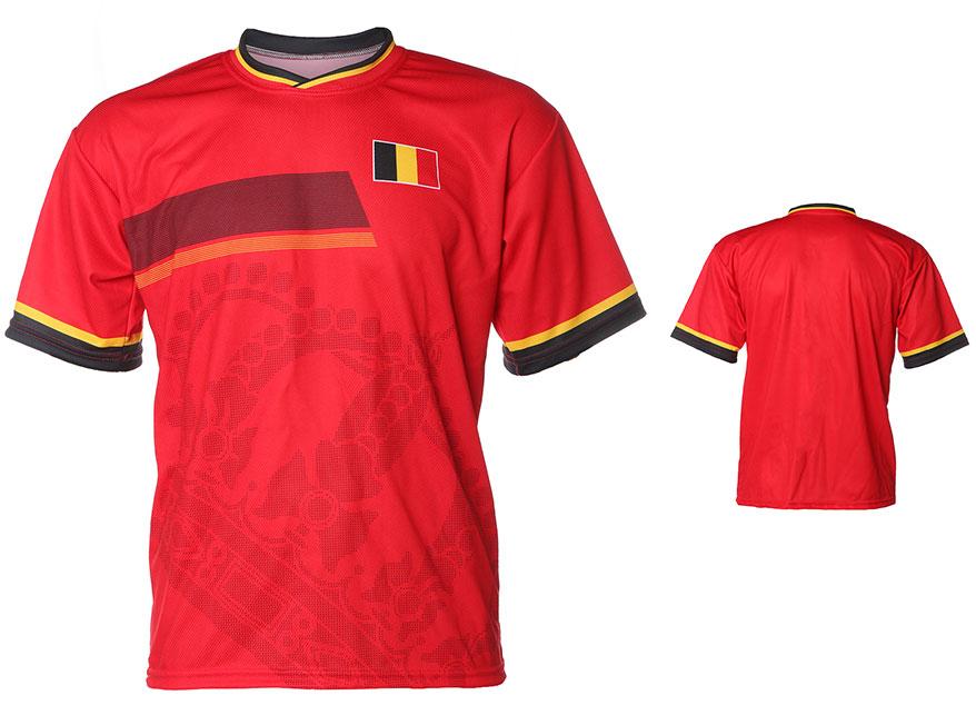 Belgie Shirt Thuis Eigen Naam 2014-2016 Extra Kwaliteit