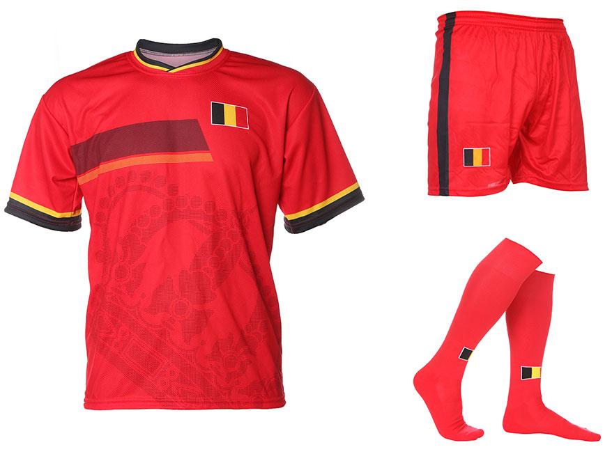 Belgie Tenue Thuis Eigen Naam 2014-2016 Extra Kwaliteit