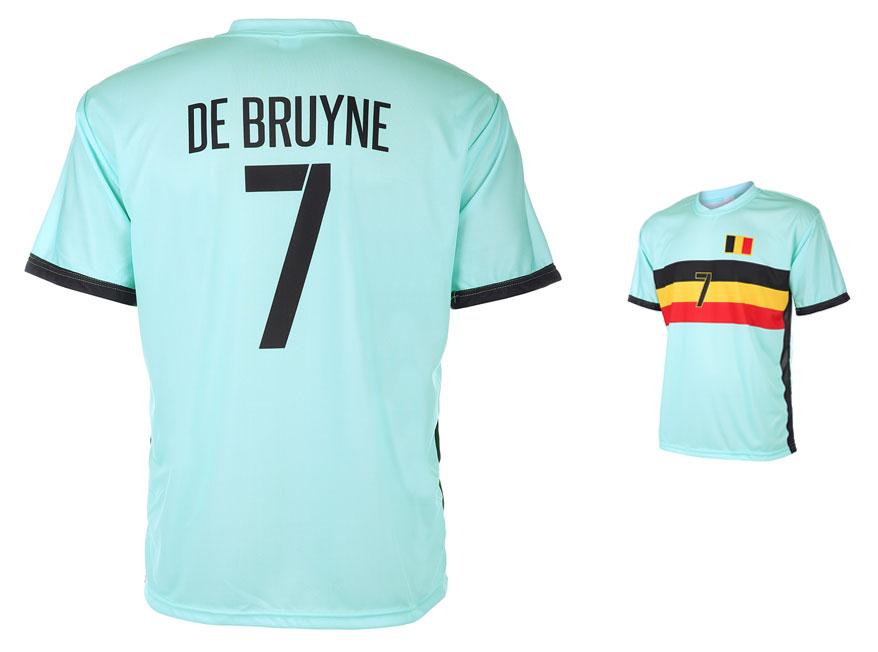 Belgie Shirt De Bruyne Uit 2016-2018