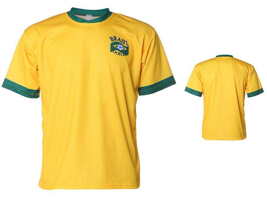 Brazilie Shirt Thuis Eigen Naam 2014-2016 Extra Kwaliteit