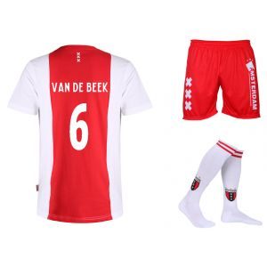Ajax Voetbaltenue Van de Beek Thuis Kids-Senior
