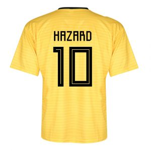 Belgie Voetbalshirt Hazard Uit 2018-2020 Kids / Senior