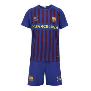 FC Barcelona Voetbaltenue Thuis Eigen Naam 2018-2019 Kids