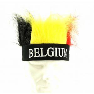 Belgie Pruik met haarband