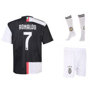 Juventus Voetbaltenue Ronaldo Thuis 2019-2020 Kids-Senior - OP=OP