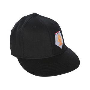 KNVB Cap Zwart met Oranje Leeuw