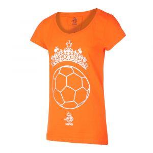 KNVB - Nederlands Elftal T-shirt Dames - Tiara Bal - Eigen Naam - Oranje