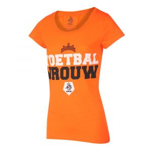 KNVB - Nederlands Elftal T-shirt Dames Voetbal Vrouwen Eigen Naam