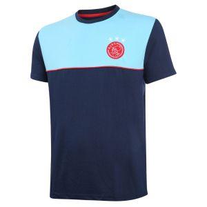 Ajax T-shirt Uit Eigen Naam 2020-2021 Senior Katoen