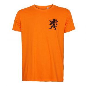 Oranje T-shirt Eigen Naam - Nederlands Elftal - Katoen - Senior