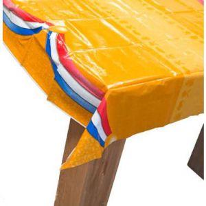 Tafelkleed Oranje 178x132 cm afneembaar