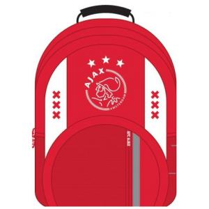 Ajax Rugzak groot wit/rood/wit xxx: 44x30x16 cm