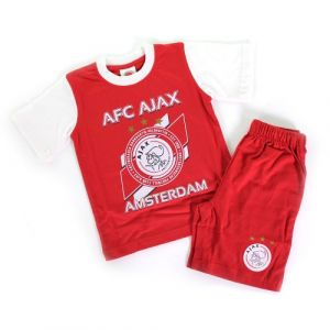 Shortama Ajax Wit-Rood Logo