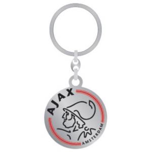 Sleutelhanger Ajax metaal logo