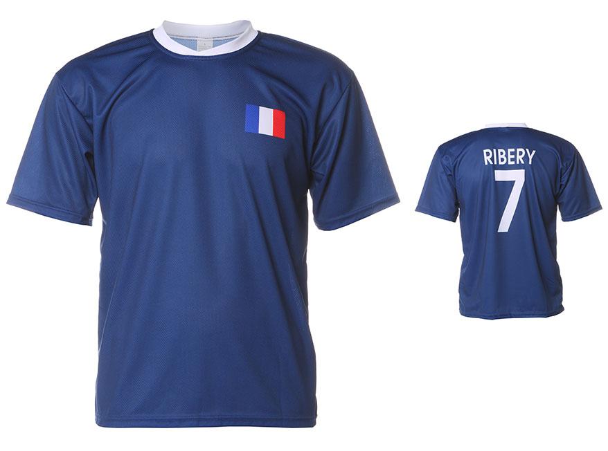 Frankrijk Shirt Ribery Thuis 2014-2016