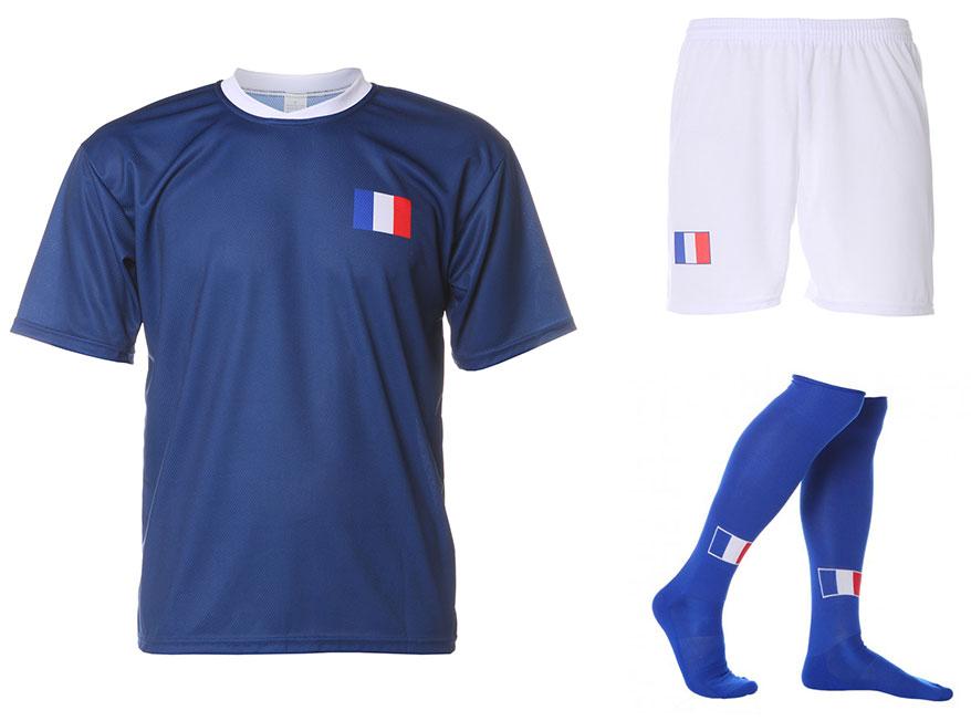 Frankrijk Voetbaltenue Ribery Thuis 2014-2016