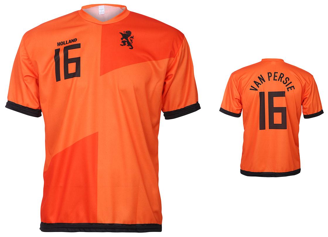 Nederlands Elftal Shirt Van Persie Thuis 2012-2014
