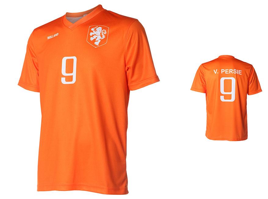Nederlands Elftal Shirt Van Persie Thuis 2014-2016 Super Kwaliteit