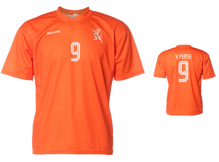 Nederlands Elftal Shirt Van Persie Thuis 2014-2016 Extra Kwaliteit
