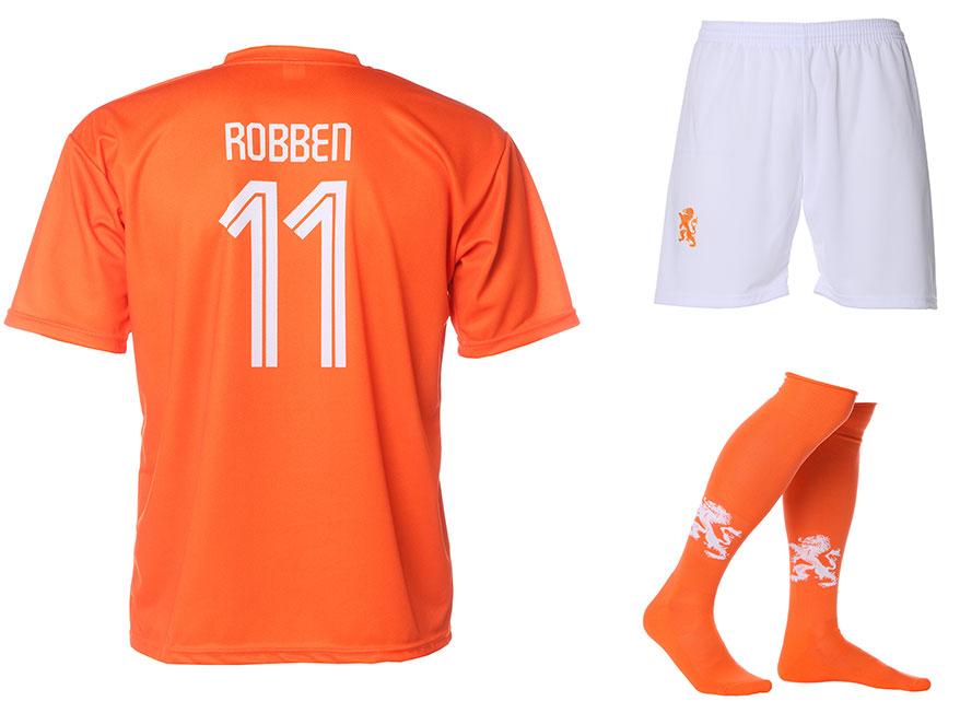Nederlands Elftal Tenue Robben Thuis 2014-2016