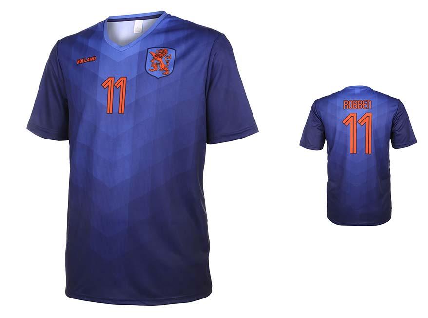 Nederlands Elftal Shirt Robben Uit 2014-2016 Super Kwaliteit
