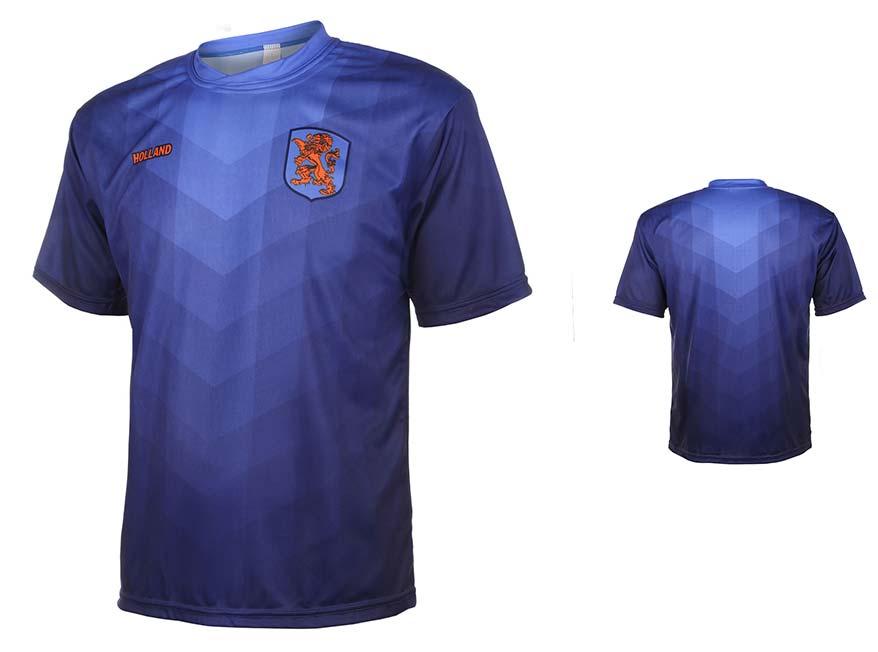 Nederlands Elftal Shirt Eigen Naam Uit 2014-2016 Super Kwaliteit