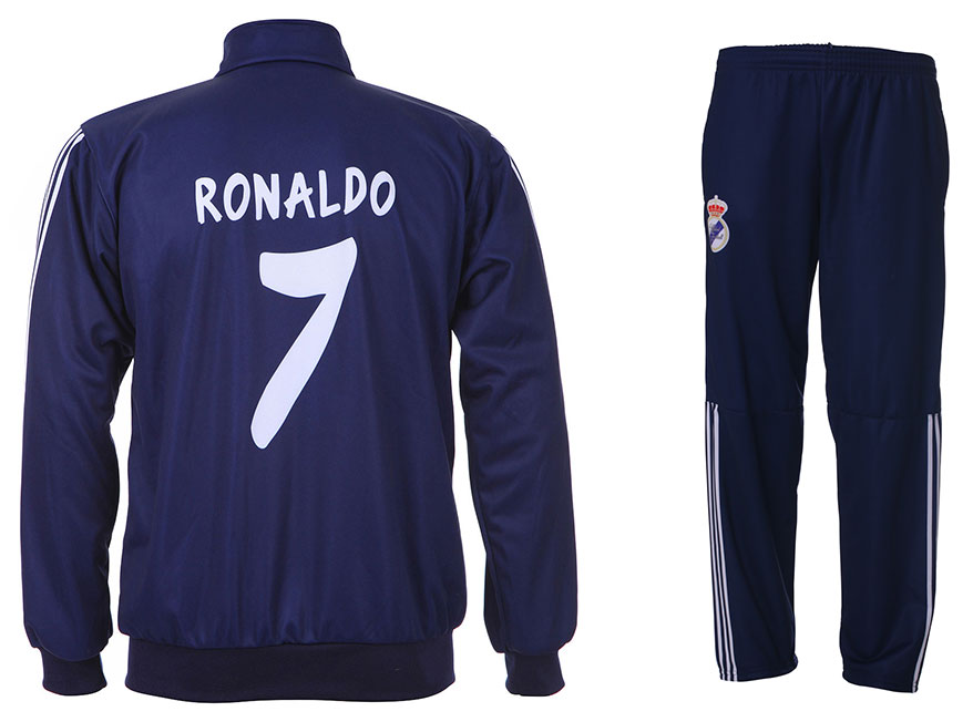 Real Madrid Trainingspak Ronaldo Thuis