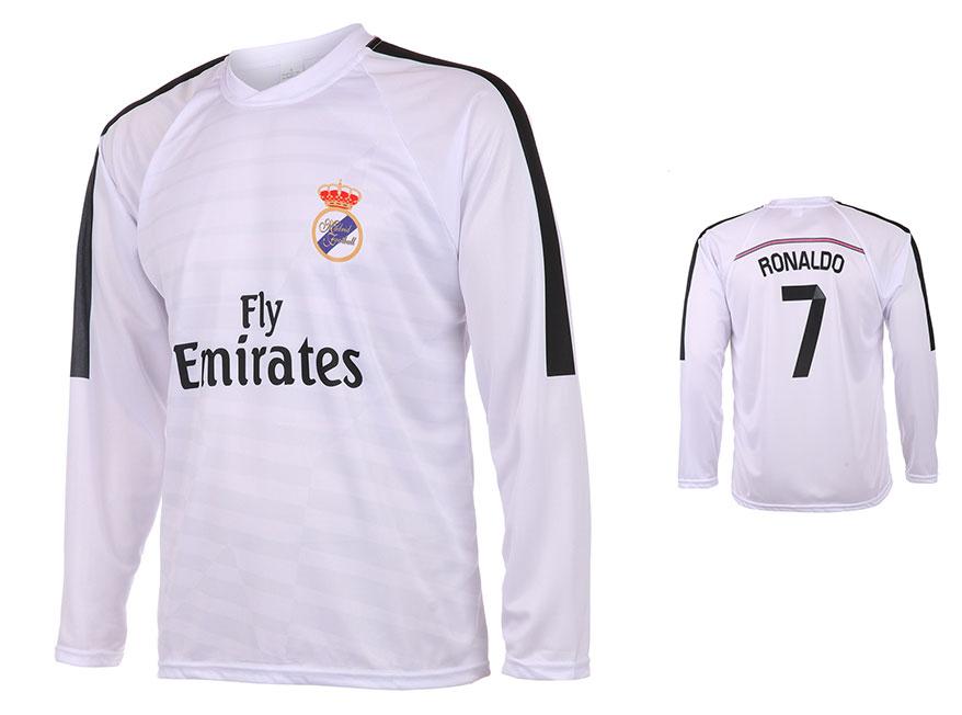Real Madrid Voetbalshirt Ronaldo Thuis 2014-2015 Lange Mouwen