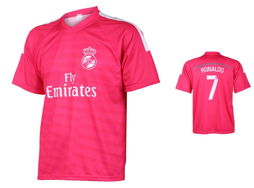 Real Madrid Voetbalshirt Ronaldo Uit 2014-2015