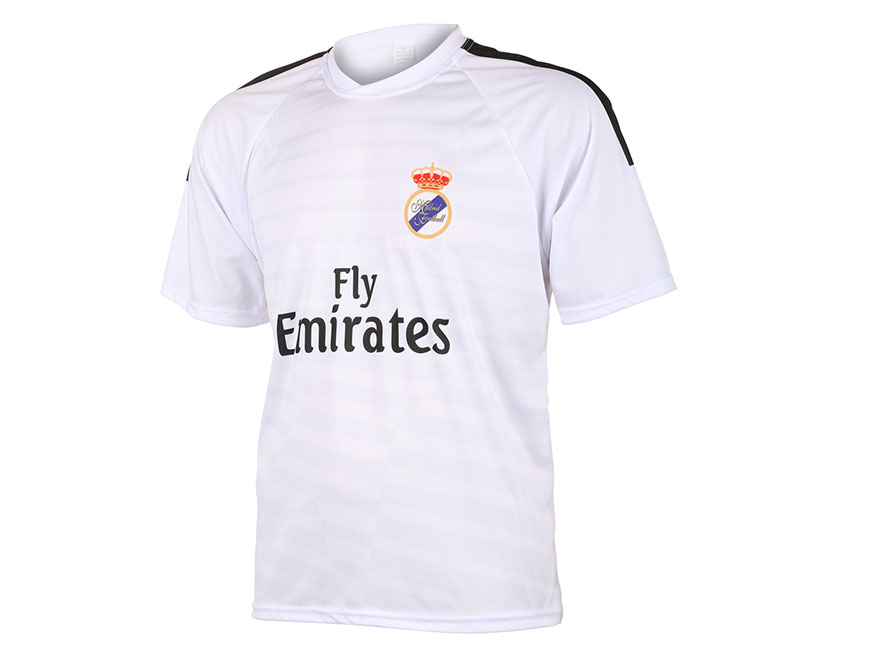 Real Madrid Voetbalshirt Thuis Eigen Naam 2014-2015