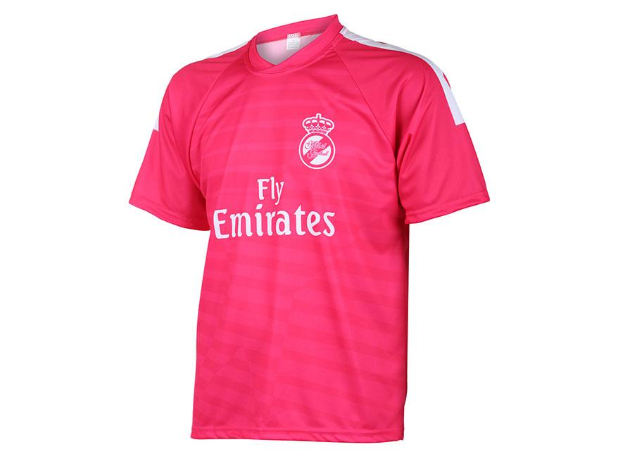 Real Madrid Voetbalshirt Uit Eigen Naam 2014-2015