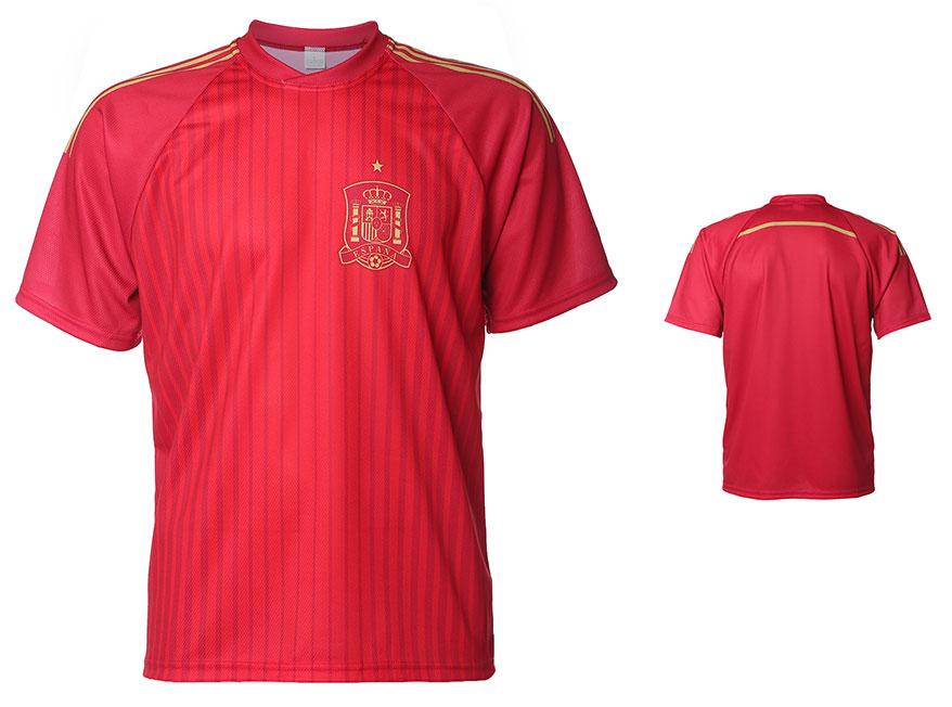 Spanje Shirt Thuis Eigen Naam 2014-2016 Extra Kwaliteit