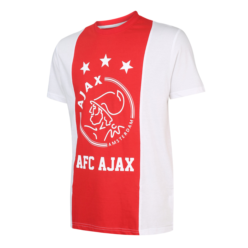 T-shirt Ajax Logo Kids Katoen Eigen Naam